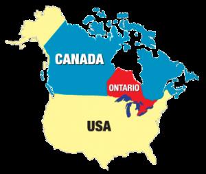 Mapa-Ontario