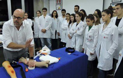 Curso aborda controle de hemorragia em situações de trauma