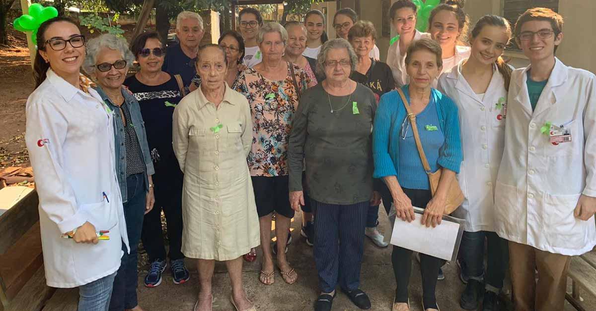 Alunos promovem ação Setembro Verde na UBSF Jardim Americano