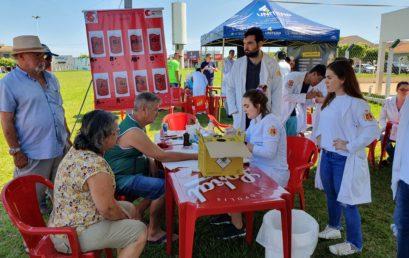 Caravana da Saúde e Conhecimento leva atendimentos de saúde gratuitos a moradores de Bady Bassitt