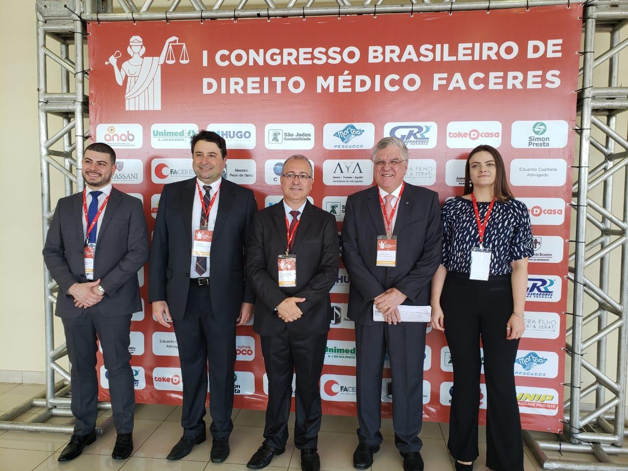 I Congresso Brasileiro de Direito Médico FACERES reuniu mais de 300 participantes