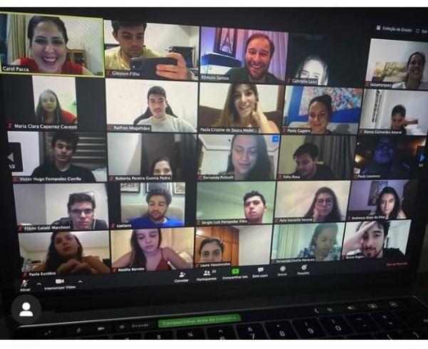 Plataformas virtuais são aliadas na manutenção dos eventos acadêmicos da faculdade