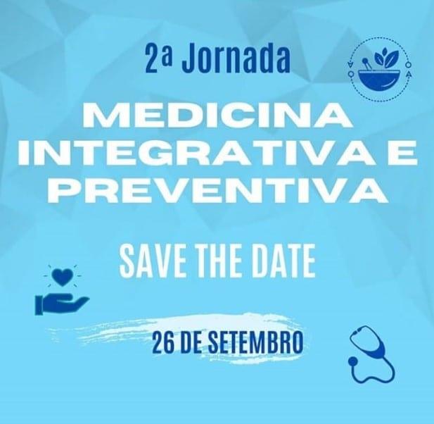 Inscrições abertas para a 2ª Jornada de Medicina Integrativa e Preventiva
