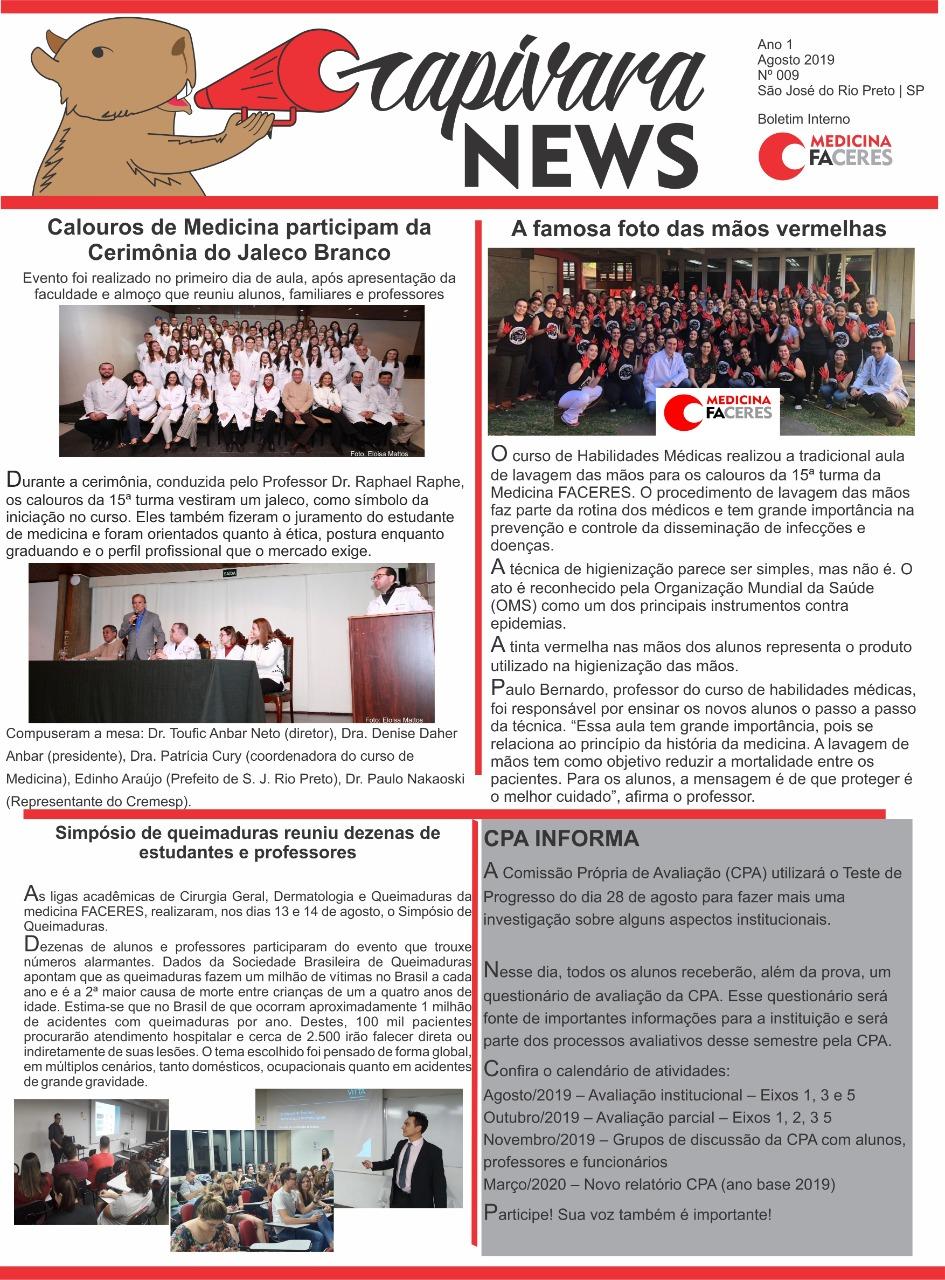 Capivara News Ago. 2019 – 009