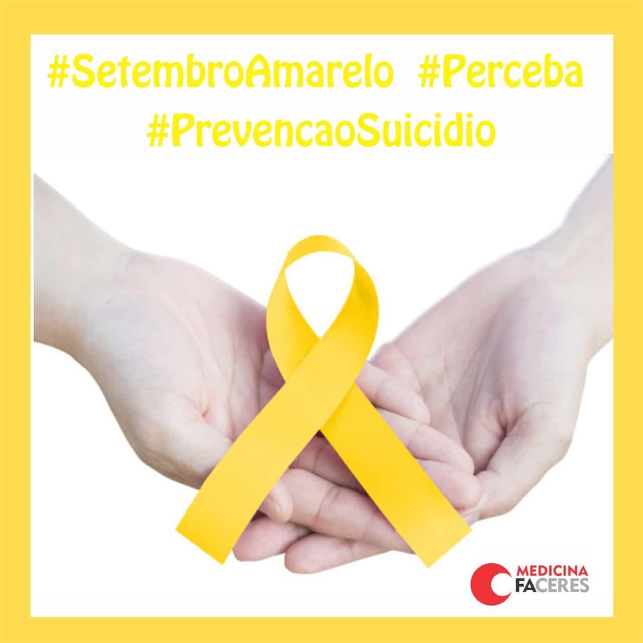 Turma 15 Do Curso De Medicina Faceres Desenvolve Campanha Virtual Do Setembro Amarelo Prevencao Ao Suicidio Faculdade Faceres