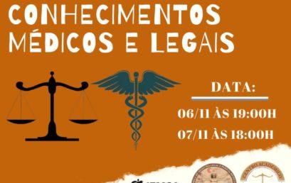 1º Simpósio de Conhecimentos Médicos e Legais reúne especialistas em debates da Medicina Legal e Perícia Médica