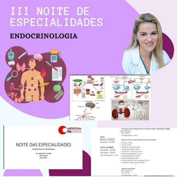 Endocrinologia é tema de mais um encontro da Noite das Especialidades