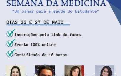 """7ª Semana da Medicina FACERES – """"Um olhar para a saúde do estudante"""""""