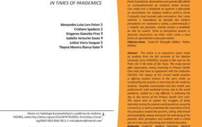 Revista Humanidades e Inovação publica artigo de autoria de acadêmicos e discente da FACERES