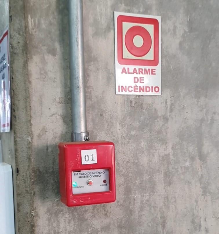 Simulação de evacuação do prédio é realizada na FACERES